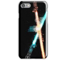 Lightsaber Clash iPhone Case/Skin