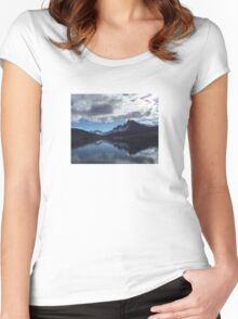 Ørnes, Norway Women's Fitted Scoop T-Shirt