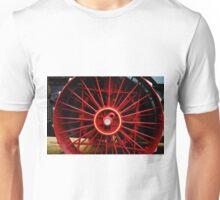 Steam Tractor Wheel Unisex T-Shirt