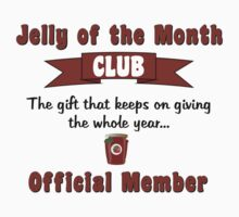 Jelly of the Month Club Kids Tee