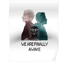 Mr Robot - We are finally awake Poster