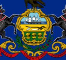 Pennsylvania State Flag Sticker
