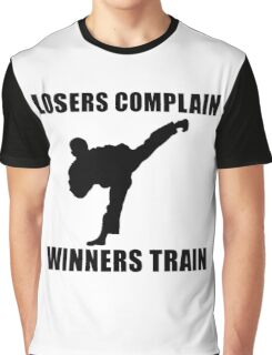 Martial Arts Winners Train Graphic T-Shirt