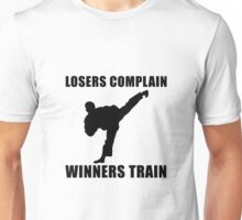 Martial Arts Winners Train Unisex T-Shirt