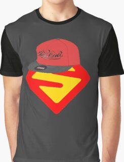 Superwoman logo +cap Graphic T-Shirt