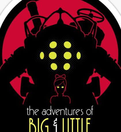 The Adventures of Big & Little Sticker