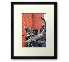 Vancouver, BC: Watch Over the Fallen Framed Print