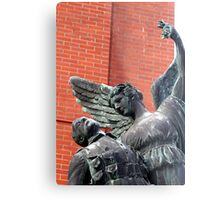 Vancouver, BC: Watch Over the Fallen Metal Print