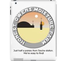 Honest Owens Moisture Farm iPad Case/Skin