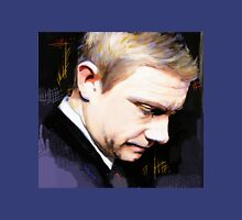 Martin Freeman Artwork Design 1 Womens Fitted T-Shirt