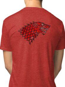 House Stark (blood) Tri-blend T-Shirt