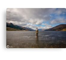 STILL The mirrorman Canvas Print