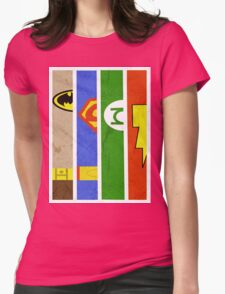 DC Comic Legends Womens Fitted T-Shirt