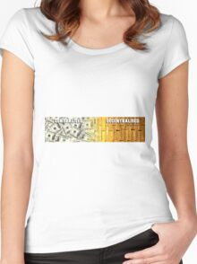 Centralised | Decentralised Women's Fitted Scoop T-Shirt