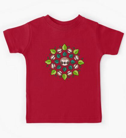 Mandala Sloth Kids Clothes