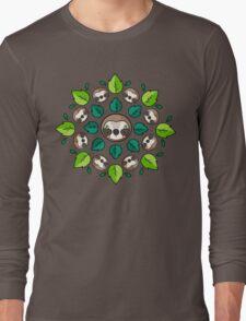 Mandala Sloth Long Sleeve T-Shirt