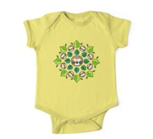 Mandala Sloth One Piece - Short Sleeve