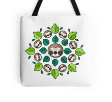Mandala Sloth Tote Bag