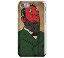 James Abaddon Garfield-Demon iPhone Case/Skin