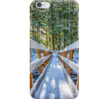 Snowy Bridge iPhone Case/Skin
