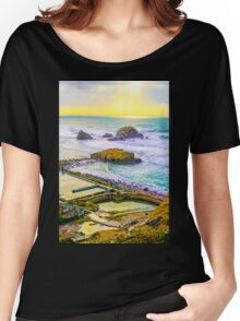 Lands End Sunset Women's Relaxed Fit T-Shirt
