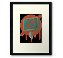 TIN ARTERIES Framed Print