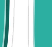 Teal Pi Sticker