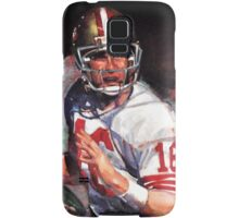 JOE MONTANA SAN FRANCISCO #16 Samsung Galaxy Case/Skin
