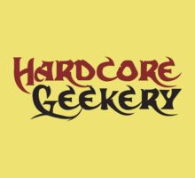 Hardcore geek Kids Tee