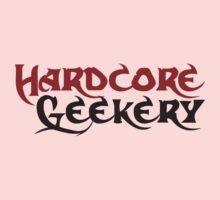 Hardcore geek Kids Clothes