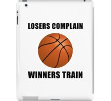 Basketball Winners Train iPad Case/Skin