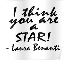 I think you are a star - Laura Benanti Poster