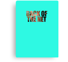 Back Of The Net Canvas Print
