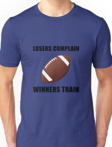 Football Winners Train Unisex T-Shirt
