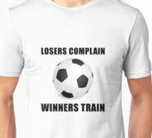 Soccer Winners Train Unisex T-Shirt