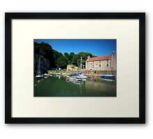 The Harbourmasters House Dysart Framed Print