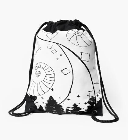 80s Style Drawstring Bag