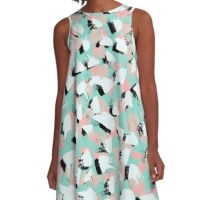 Zora Abstract A-Line Dress
