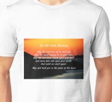 An Old Irish Blessing #1 Unisex T-Shirt