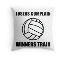 Volleyball Winners Train Loser Complain Throw Pillow