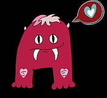 Love Fang Monster by kwg2200