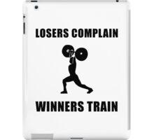 Weightlifting Winners Train iPad Case/Skin