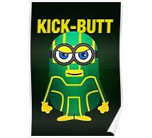 Kick-Butt Minion Poster