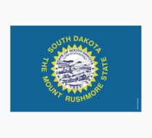 South Dakota State Flag Kids Clothes