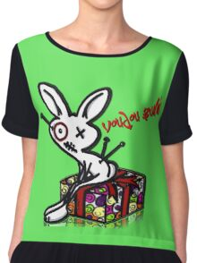 Voudou Bunny - Presents Chiffon Top