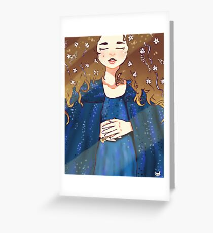 Padmé Amidala - Sleep Well. Greeting Card