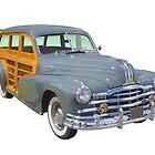 1948 Pontiac Silver Streak Woody Antique Car by KWJphotoart