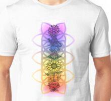 Chakra Flowers Unisex T-Shirt