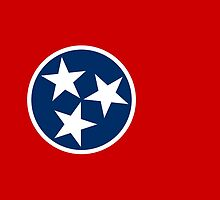 Tennessee State Flag by Carolina Swagger