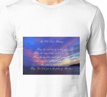 An Old Irish Blessing #3 Unisex T-Shirt